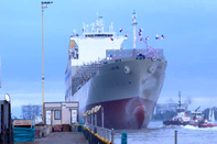 Largest vessel ever built in San Diego launched