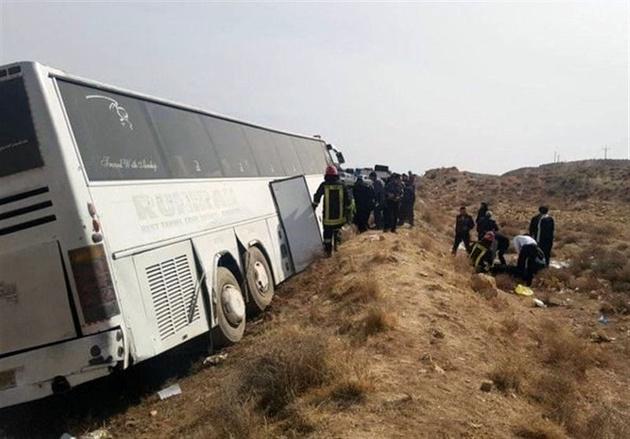 تصادف در مسیر زاهدان- بم دو کشته و چهار مجروح برجا گذاشت