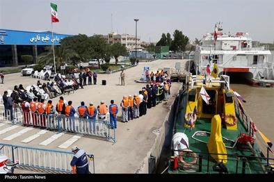 آغاز طرح نوروزی سفرهای دریایی نوروز ۹۸ در بندرخرمشهر