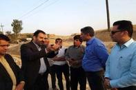 7 کیلومتر از جاده دهدشت به سوق آسفالت میشود