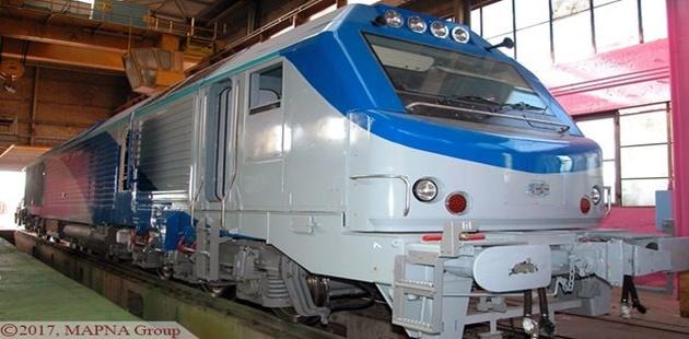 قرارداد مپنا و راهآهن برای تعمیر و نگهداری لکوموتیوهاى مسافرى