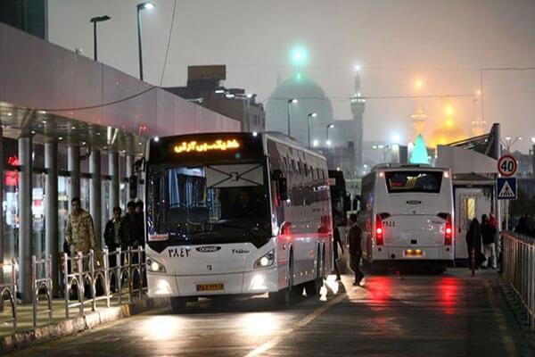 تصمیم شهردار درخصوص نحوه فعالیت اتوبوس و قطار شهری مشهد