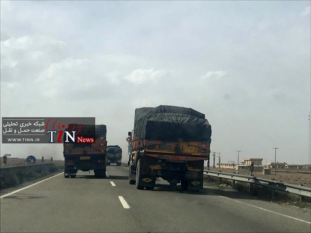 اطلاعیه سازمان راهداری درباره پیگیری حقوق کامیونداران