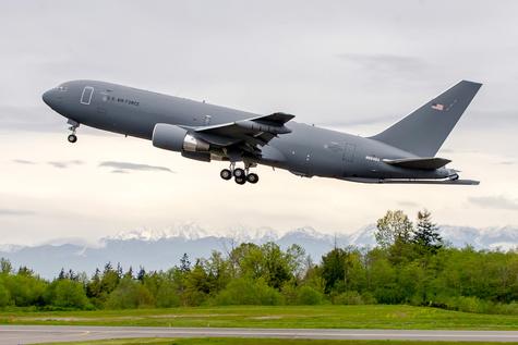 Boeing KC-46A Tanker Joins Flight Test Program