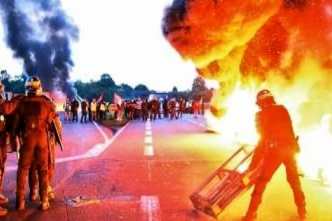 آغاز هفته جدید اعتصاب و اعتراض در فرانسه