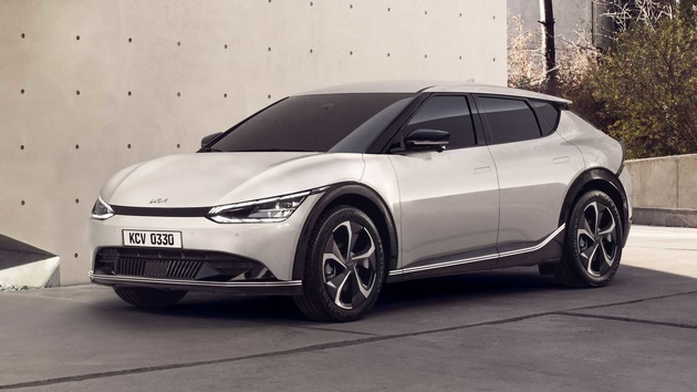 Kia's New Design Philosophy Debuts In The EV6, The Marque's First BEV