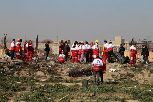 تعیین هویت قربانیان خارجی سقوط هواپیمای اوکراینی توسط پلیس آگاهی