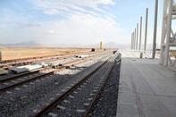 ایستگاه راه آهن کرمانشاه از فضا هم قابل رویت است