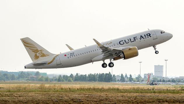 اولین ایرباس A320neo خاورمیانه به ناوگان گلفایر بحرین رسید