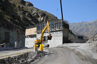 ساخت یک لاین از قطعه 2 آزادراه تهران شمال تا سال ۱۴۰۱