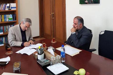 دیدار مدیرکل راه و شهرسازی گیلان با معاون رئیسجمهور