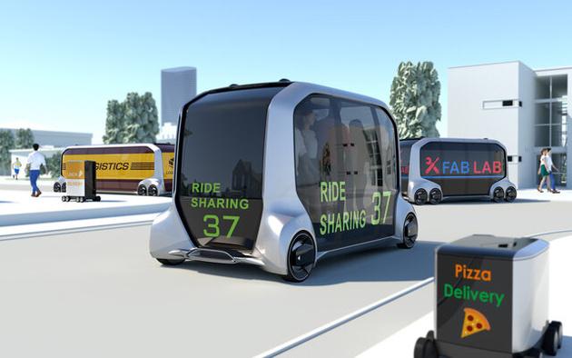«تویوتا» سرویس اتوبوسهای خودران راهاندازی میکند