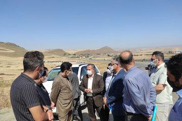 تکمیل ۱۱ کیلومتر باند دوم محور پارس آباد