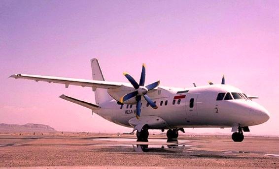 سهم ما از تولید هواپیمای ایران-140؛ چند سوله و کارگران خط مونتاژ