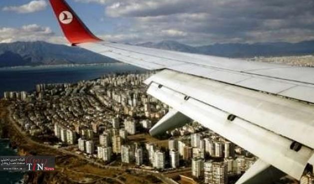 ارزش سهام خطوط هوایی ترکیه ۳.۲ درصد سقوط کرد