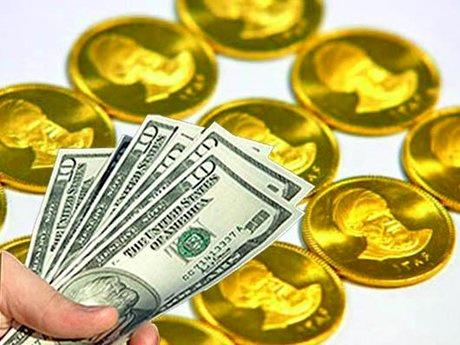 کاهش نرخ دلار و سکه در بازار آزاد
