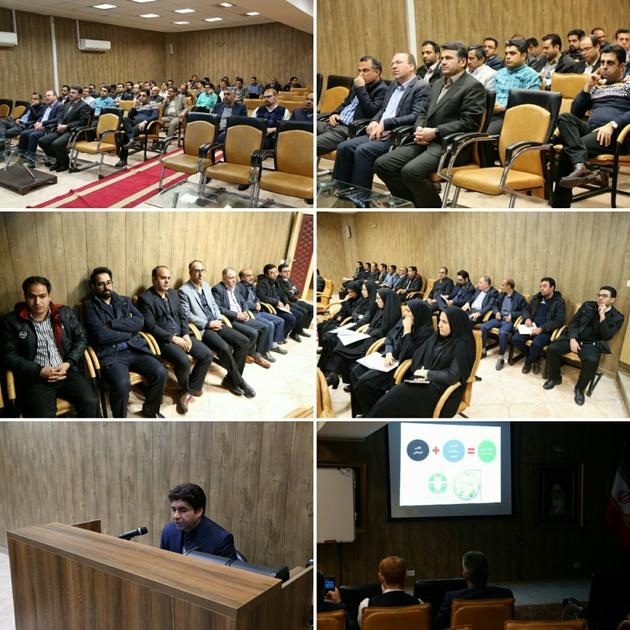 برگزاری دوره آموزشی پودمان مصوب محیطزیست و دولت سبز در فرودگاه مشهد