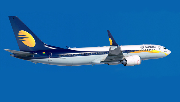 Jet Airways Receives Its Fifth Boeing 737 MAX