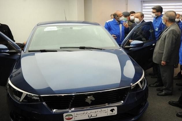 بیانیه ایرانخودرو درباره روشن نشدن خودروی جدید تارا در مراسم رونمایی