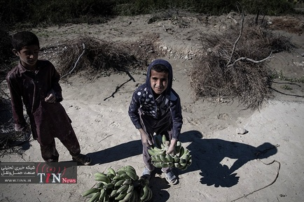 خسارت سیل در روستاهای« زرآباد سیستان و بلوچستان»