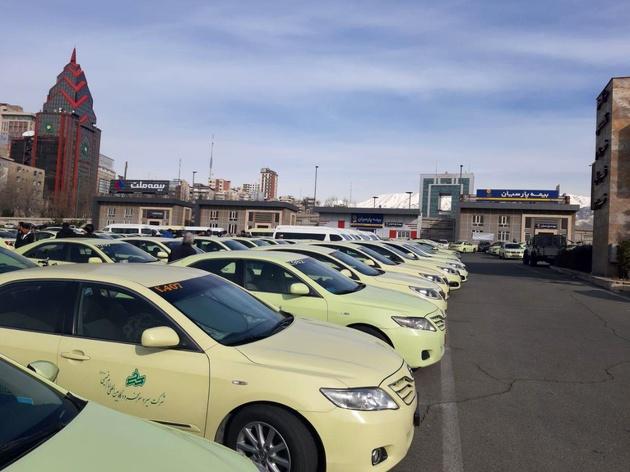 مشکل جریمه تاکسیهای فرودگاه به قوت خود باقی است