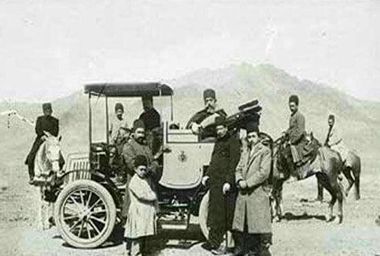 ورود اولین اتومبیل به شیراز / نخستین خودرو چگونه وارد ایران شد