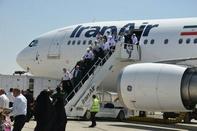 ورود اولین گروه حجاج استان یزد با پرواز هما
