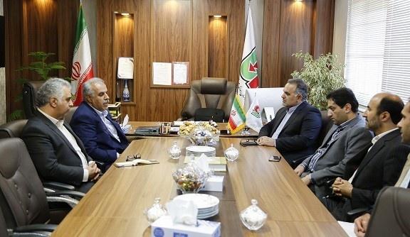 دیدار شهردار قائمشهر با مدیر کل راهداری و حمل و نقل جاده ای مازندران
