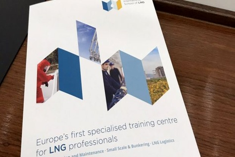 Europe's first LNG training centre presented at MEPC