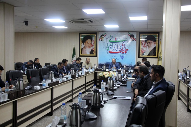 برگزاری چهارمین جلسه بررسی تعالی سازمانی درادارهکل راهآهن جنوب