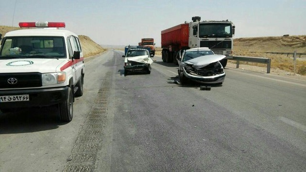 ایران دومین کشور پر تصادف جهان