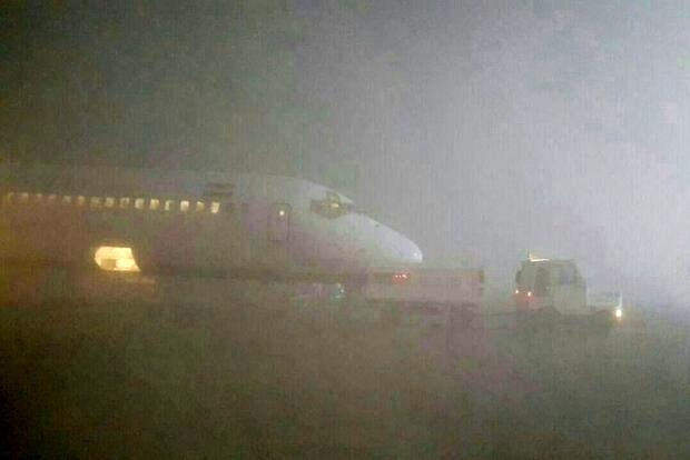 کاهش دید، پروازهای فرودگاه مشهد را برای ساعاتی متوقف کرد