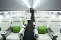 کدام قسمت هواپیما خدمات بهتری دارد؟