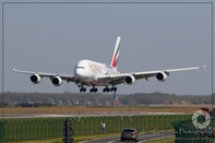 First Emirates Airbus A380 flies into retirement
