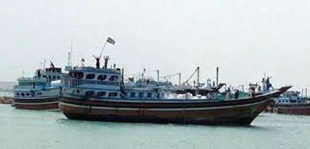 شناور باری ناپدید شده ایرانی در اسکله قطر پیدا شد