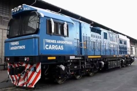 San Martín locomotives arrive in Argentina
