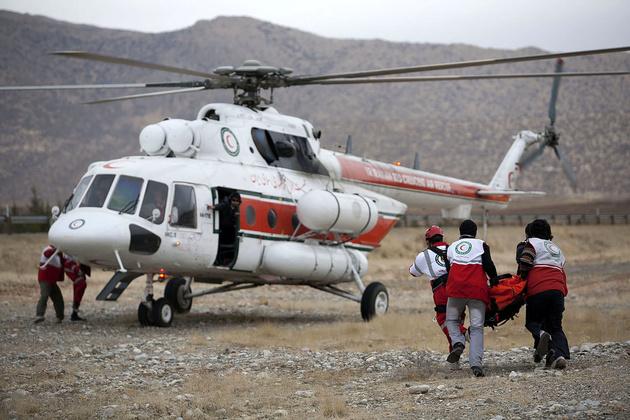 برگزاری اولین مانور امداد هوایی تهران در زمان بحران