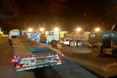 تخفیف در کرایه حمل مواد معدنی به  فولاد مبارکه از جیب رانندگان