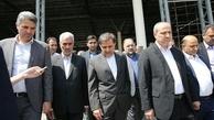 بازدید وزیر راه و شهرسازی از فرودگاه گرگان