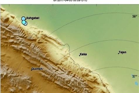 فرماندار تربت جام: زلزله در تربت جام خسارتی نداشته است