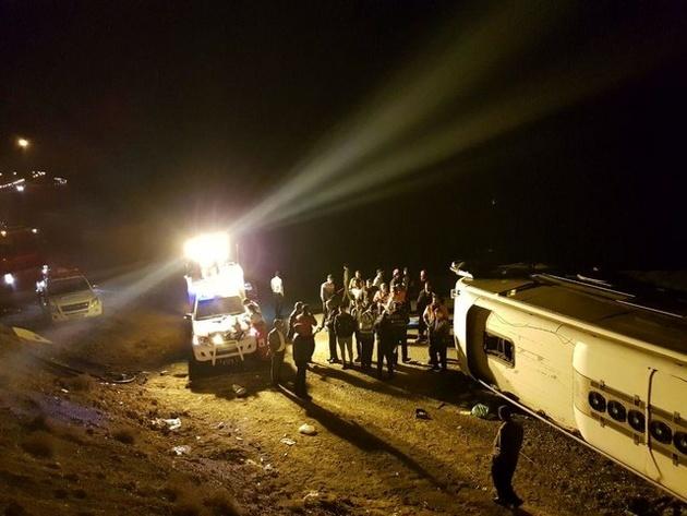 چرا اتوبوس مسافربری در خطیرکوه ورسک به دره سقوط کرد؟
