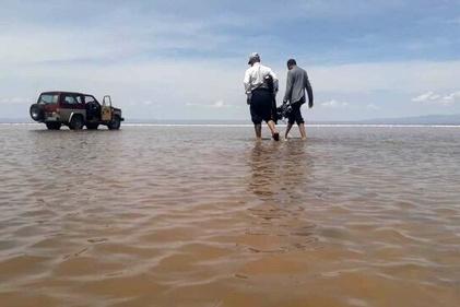 کویر زواره دریاچه شد