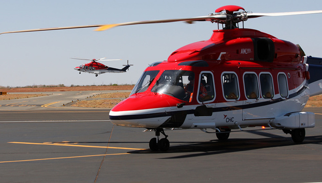 CHC Helicopter to Bring AW189 Helicopters Into Australia