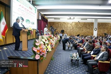 مراسم افتتاح هفتمین نمایشگاه بینالمللی حملونقل ریلی
