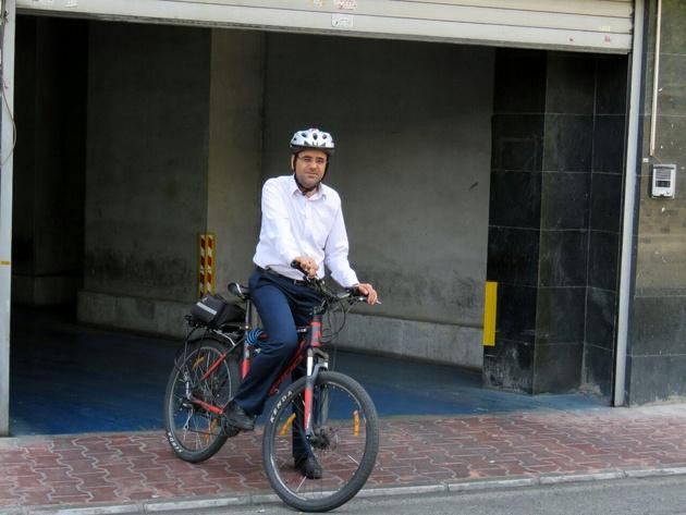 چالشهای استفاده از دوچرخه در شهر تهران یکی دو تا نیست