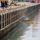 اجرای پروژه تعمیرات اساسی ۶ پست اسکله در بندر نوشهر