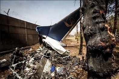 ۱۳۰۰ کشته در سوانح هوایی 40 سال گذشته؛ «توپولف 154» در صدر سقوط