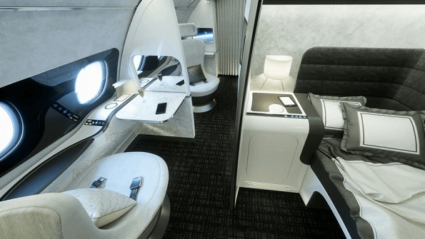 Airbus presents 'Day & Night' first-class concept design