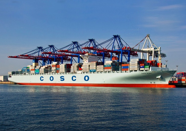 China's $6.3bln shipping buy is delicately stacked
