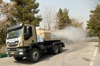 خودروهای جدید ضدعفونی کننده ارتش که به زودی به خیابانها میآیند